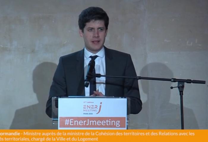 """Discours de Julien Denormandie """"Le bâtiment 2020 prêt pour 2050"""""""